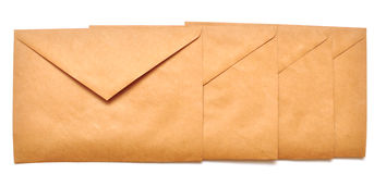 Mail envelopes Royalty Free Stock Photos