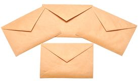 Mail envelopes Royalty Free Stock Photography