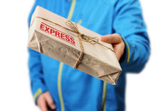 Mail express delivery Stock Images