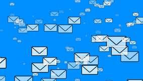 Mail Flying (Email Envelopes)