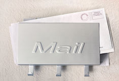 Mail holder Stock Images