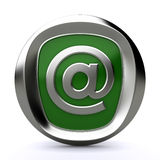 Mail icon 3d Royalty Free Stock Image