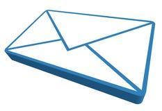 Mail icon. Envelope icon isolated on white background Stock Photos