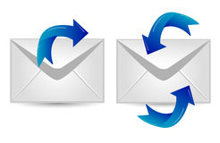 Mail icon Royalty Free Stock Images