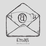 Mail icon design vector illustration eps10 graphic Stock Photos