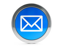 Mail icon with highlight vector illustration