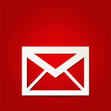 Mail icon Royalty Free Stock Photos