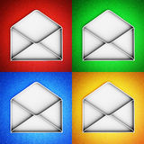 Mail icon Stock Photo