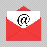 Mail icon vector royalty free illustration