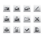 Mail icons Stock Photos