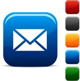 Mail icons. Royalty Free Stock Images