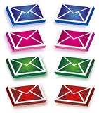 Mail icons, part 2 Stock Image