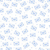 Mail icons pattern Royalty Free Stock Image