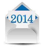 2014 mail Royalty Free Stock Image