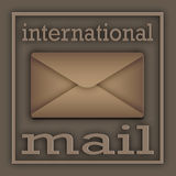 Mail international Royalty Free Stock Photos