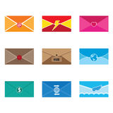 Mail Letter communication vector and icon Stock Photo