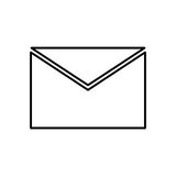 Mail letter symbol Stock Photography