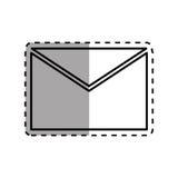 Mail letter symbol Stock Images