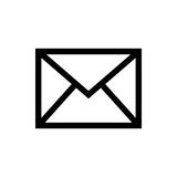 Mail letter symbol Stock Photos