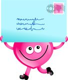 Mail love Royalty Free Stock Photos