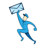 Mail Man Stock Images