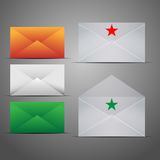Mail Marketing Icon Set. Royalty Free Stock Images
