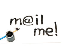 Mail_me Royalty Free Stock Image