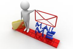 Mail me Royalty Free Stock Photos