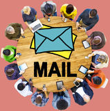 Mail Message Inbox Letter Communication Concept Royalty Free Stock Photos
