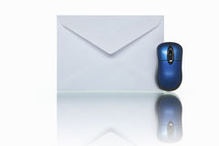 Mail and mouse Royalty Free Stock Image
