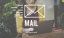 Mail Online Message Global Communications Connection Concept Royalty Free Stock Photography