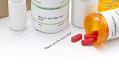 Mail Order Medications Royalty Free Stock Photography