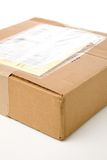 Mail package. A mail package close up shot Royalty Free Stock Photos