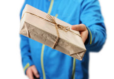 Mail package delivery Royalty Free Stock Image