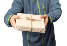 Mail package delivery Royalty Free Stock Photography