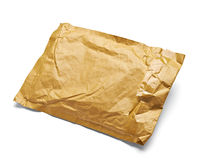Mail package envelope box used open postal Royalty Free Stock Photo