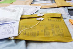 Mail parcels Royalty Free Stock Photography