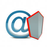 Mail protection Royalty Free Stock Photo