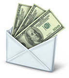 Mail in rebate refund payment Royalty Free Stock Photography