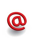 Mail red Royalty Free Stock Images