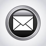 mail send design Royalty Free Stock Photo
