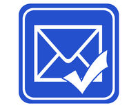 Mail sent Royalty Free Stock Photo