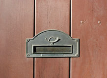 Mail slot Stock Photos