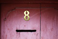 Mail slot Royalty Free Stock Photo