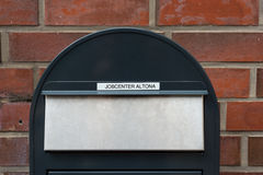 Mail slot at the employment center Hamburg Royalty Free Stock Photography