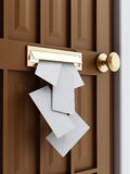 Mail slot Stock Images