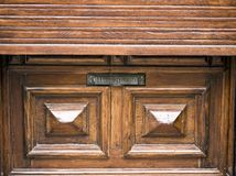 Mail slot-sunblind Stock Photography