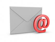 Mail with @ symbol Royalty Free Stock Image