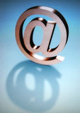 Mail symbol. At sign - web mail royalty free stock photography