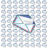 Mail symbol Royalty Free Stock Photos